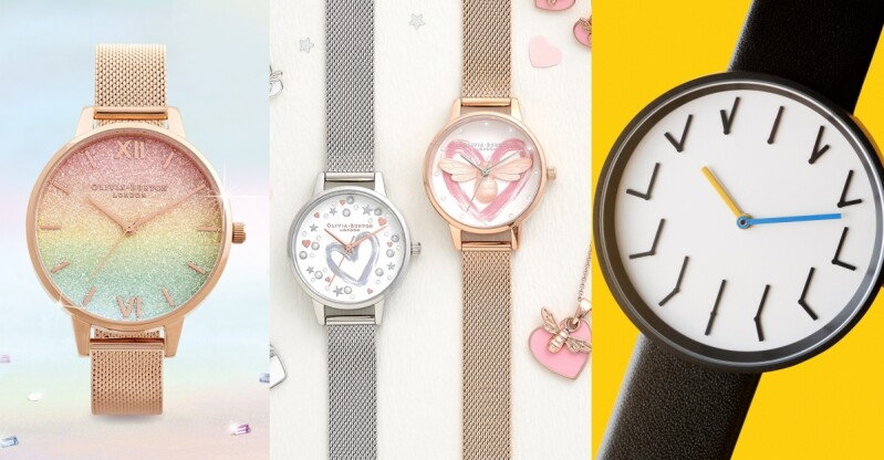 情人節送「手錶」紀念兩人的甜蜜戀愛史!Olivia Burton彩虹漸層錶超有少女心、Anicorn適合酷女友