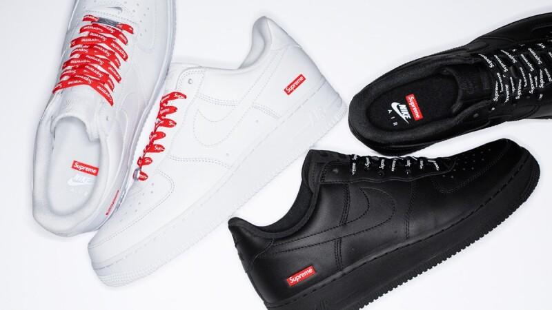 再一瘋搶聯名系列登場!Nike X Supreme聯手推出經典黑白Air Force 1 Low鞋款