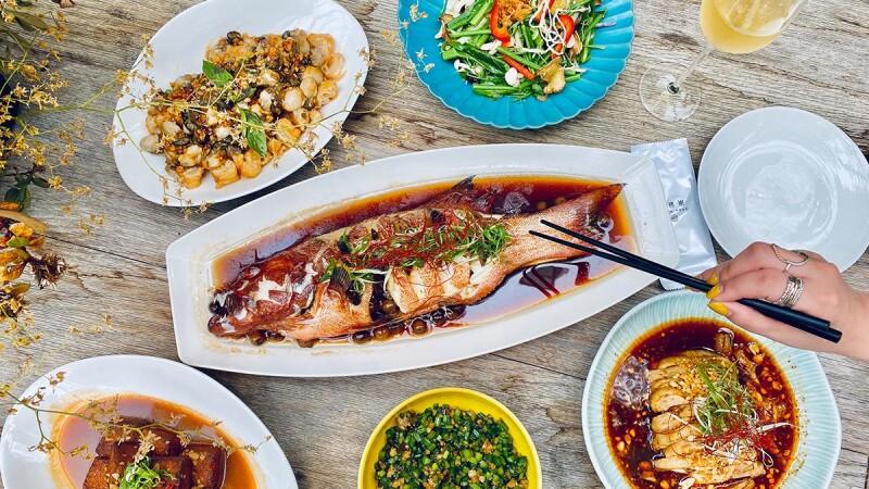 最時髦的台菜!富錦樹台菜香檳森林系中式餐廳,連渡邊直美也著迷的台灣料理