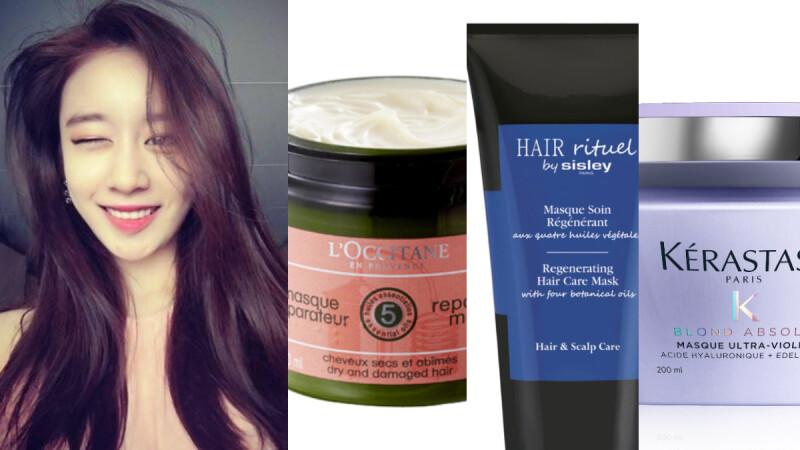 頭髮乾燥如稻草 該用潤髮乳還是護髮膜?