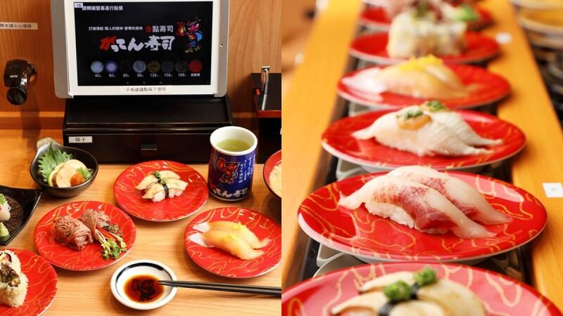 壽司控開吃!合點壽司日本超人氣壽司首度插旗百貨,京站店推春季限定菜單,浮誇系壽司在這裡吃