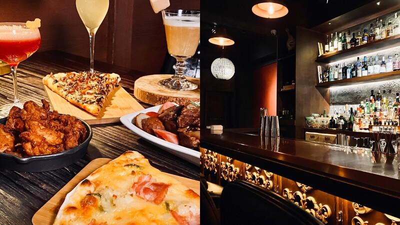 【東區酒吧】The Fridge bar冰箱酒吧隱身在PIZZA店內,只有內行人才知道的秘密酒吧,肉桂調酒、隱藏版酒單、必點下酒菜推薦