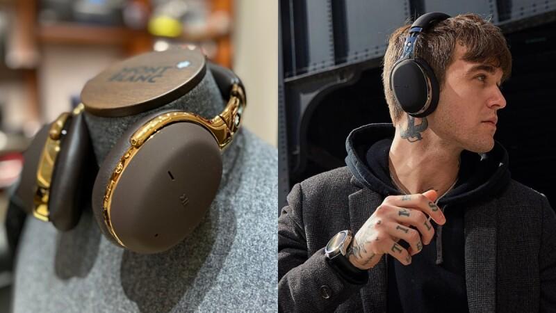 萬寶龍MB01全罩式智能無線耳機4月上市!棕金配色帥爆、20小時續航力,完全是最棒男友禮物