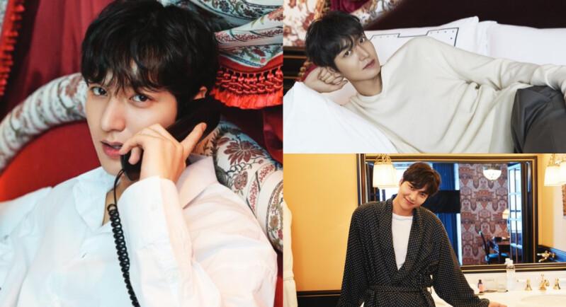 李敏鎬 宣傳「威斯汀朝鮮酒店」大片超撩人,王子風範太帥氣,好想和他睡同一張床啊!