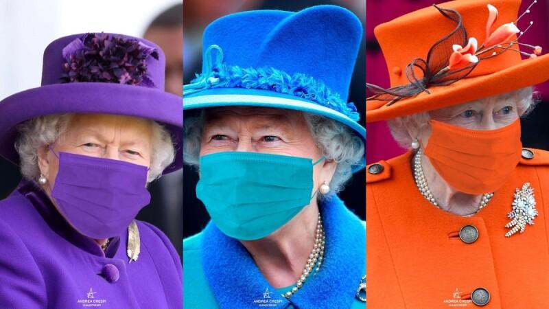 英國女王也戴口罩?堅持「One Tone」搭配,樂觀防疫