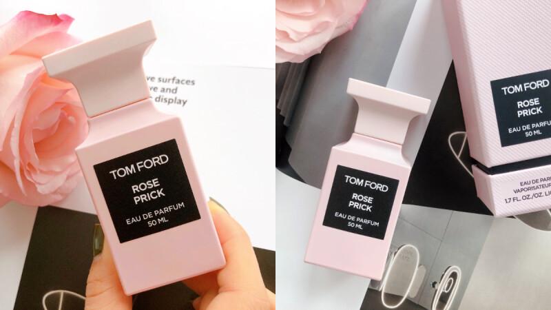 Tom Ford 私人調香系列新推出粉紅瓶身Rose Prick禁忌玫瑰,帶刺玫瑰好撩人!
