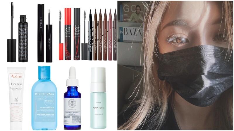 防疫保養這樣做:減法美容為上策、口罩妝容首重眼神,口氣衛生更要注意!