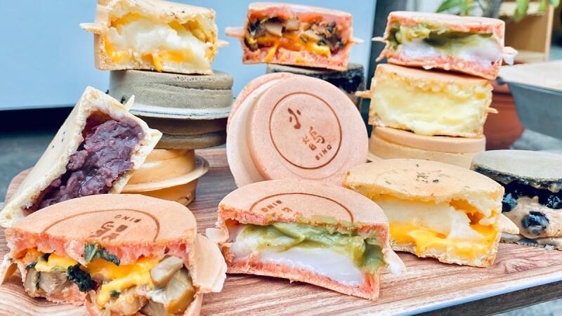 【新竹美食】小鵲sing紅豆餅爆漿奶油餡料,還有隱藏版鐵觀音牛奶珍珠、起司三杯杏鮑菇