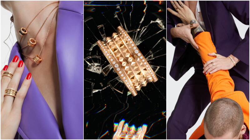 BVLGARI 寶格麗推出全新 B.zero1 Rock 系列,加了鉚釘簡直巨時髦,勁裝耍帥就靠這一咖, !