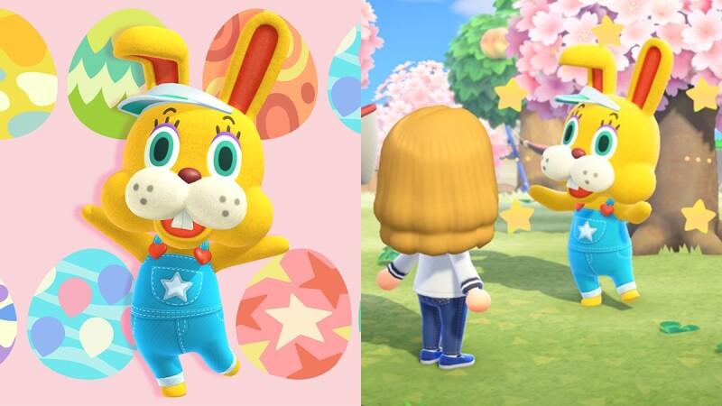超萌兔子來了!《集合啦!動物森友會》免費更新復活節活動,製作出限定版家具