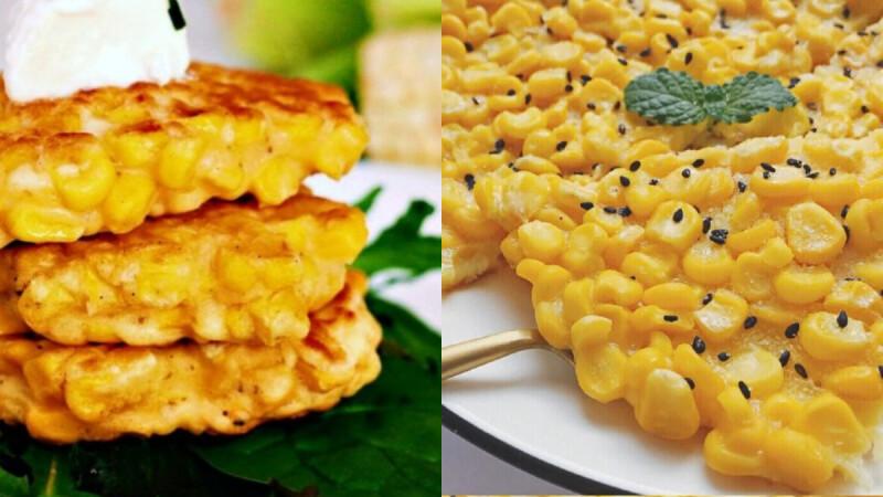 """3步驟打造快手早餐!美味夢幻""""奶香玉米烙"""" 不加一滴油,低卡又健康 一定要筆記起來的啊!"""
