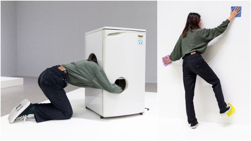 《一分鐘台北》歐文沃姆個展:互動式雕塑中尋找生活的顛覆性趣味