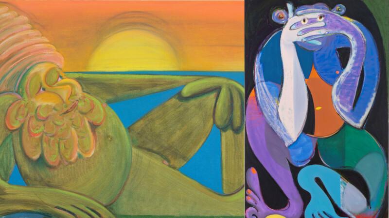 《安通庫恩斯特:Casual Magic》展覽紐約藝術家的魔幻日常,Antone Könst用私人經驗繪繹東方哲學與現代藝術