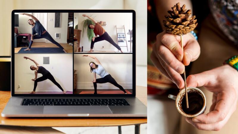 在家防疫不無聊!Airbnb推出「線上達人體驗」,免出門就能學做瑜珈、烹飪,還能用土耳其咖啡玩占卜