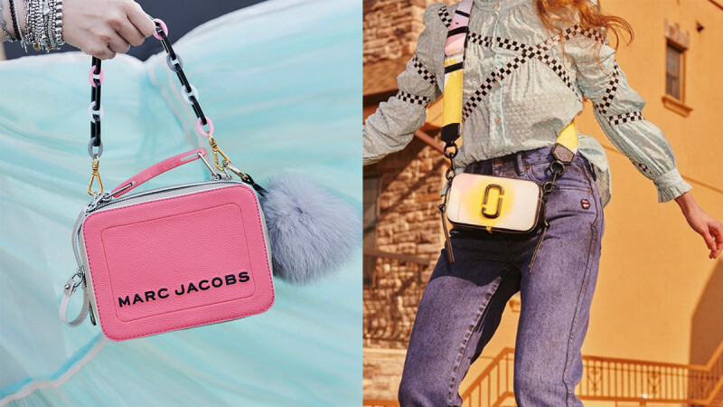 Marc Jacobs春夏系列包款以粉嫩色調完美迫降,搭配妳每日的多變造型,以及充滿活力的好心情!