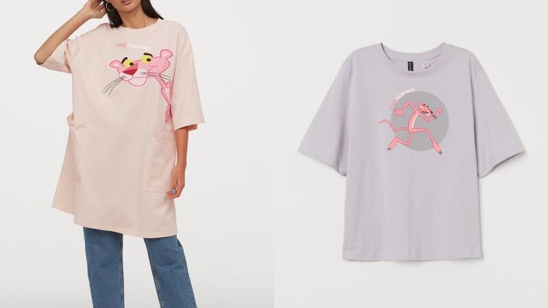 粉色穿搭入手指南! H&M Divided推出粉紅頑皮豹聯名系列,條紋上衣、丹寧外套、荷葉洋裝都是春夏衣櫥必備