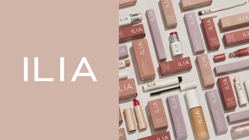 淨透系彩妝ILIA升級2.0,LOGO變粗體、包裝全部變成文青色票感好清新