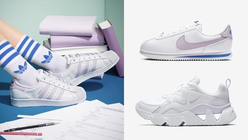 盤點5雙仙氣紫球鞋Nike、adidas、Puma、Converse全都有,一穿上女神感炸裂