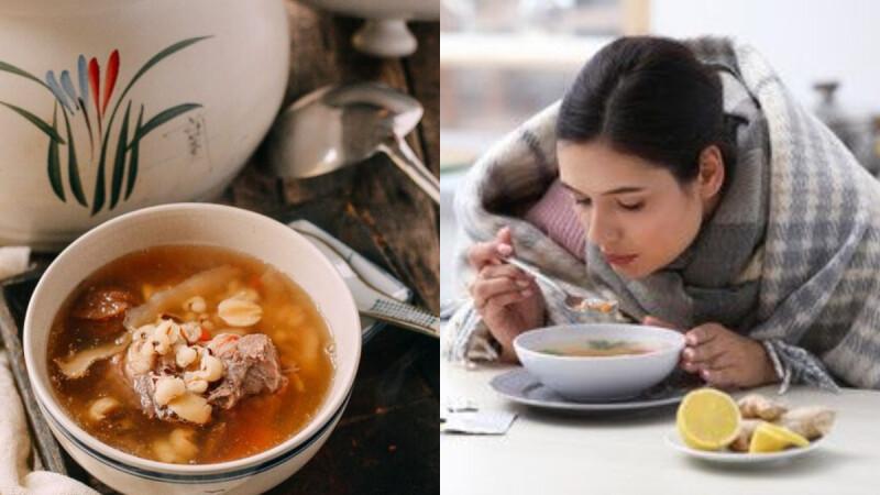 中醫師的2道袪濕湯食譜 不僅消水腫、還能排毒去肺熱,一定要學起來!