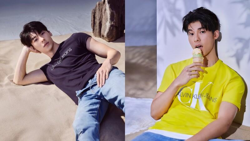 許光漢接下Calvin Klein Jeans大中華代言人!套上寶寶藍上衣,根本「行動荷爾蒙」