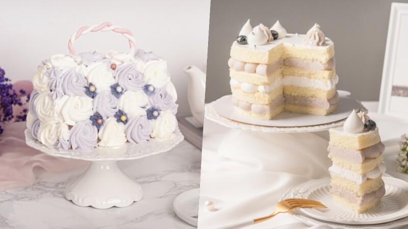 可以吃的精品包!Funsiamo推3款芋泥系列手作蛋糕,DIY一顆視覺美味兼具的母親節蛋糕