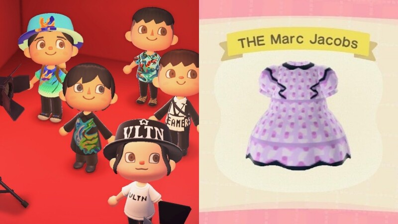 《動物森友會》讓時尚夢成真!官方釋出Valentino、Marc Jaocbs當季款,26款設計通通要收