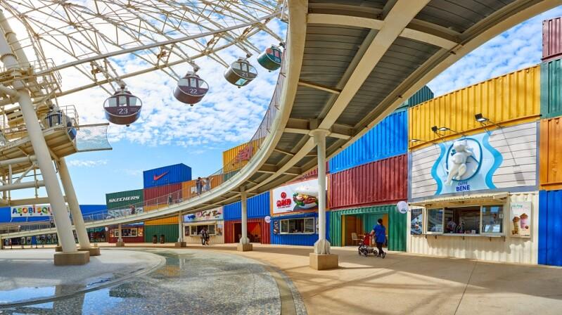 台中港三井OUTLET變更美了!全新4大巨型繽紛貨櫃市集進駐,獨家美食好吃又好拍,週末就去逛一波