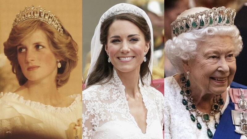 珠寶小學堂|打開英國皇室的珠寶盒!伊莉莎白女王、凱特王妃、戴安娜王妃的私藏冠冕揭秘