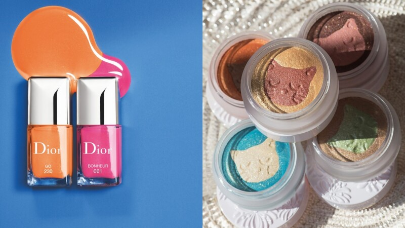 2020夏季彩妝亮點推薦:Dior迪奧香氛指甲油、PAUL & JOE宛如貓咪肉球的QQ眼影凍