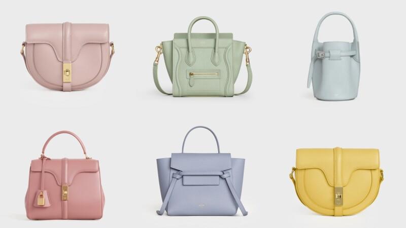 CELINE包迷請注意!北極藍、薄荷綠、櫻花粉、酪梨綠... 7種夢幻新色、9款經典款一次看