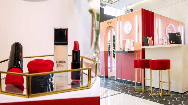 資生堂超進化底妝系列2020新品最推薦小粉紅氣墊霜,首創「用拍的妝前乳」,還搬來GINZA PARLOUR STUDIO銀座珈琲全台快閃
