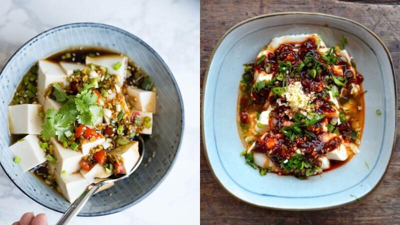 一道夏日低脂餐來了—香嫩滑涼拌豆腐料理,既飽腹又有高蛋白,減肥的人別錯過!