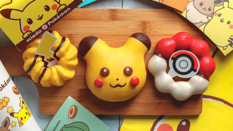 Mister Donut推出3款皮卡丘、精靈球甜甜圈!首度與寶可夢聯名,還有獨家寶可夢瓷盤等你收藏