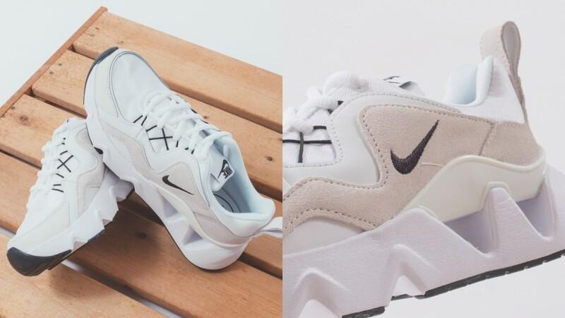 人氣球鞋Wmns Nike Ryz 365再推新色!奶茶麂皮拼接白色網布,不用3000就能入手