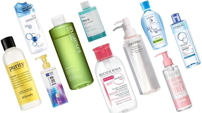 卸妝水經典10款推薦:植村秀、貝膚黛瑪、專科、巴黎萊雅…清爽潔顏必備!