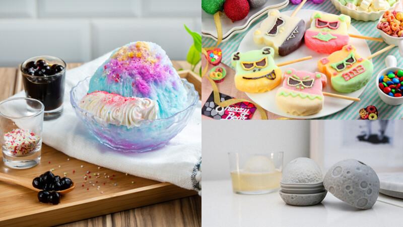 誠品年中慶推夢幻冰品 小惡魔冰棒、獨角獸雪花冰 沁涼一夏~月球製冰器在家消暑DIY!