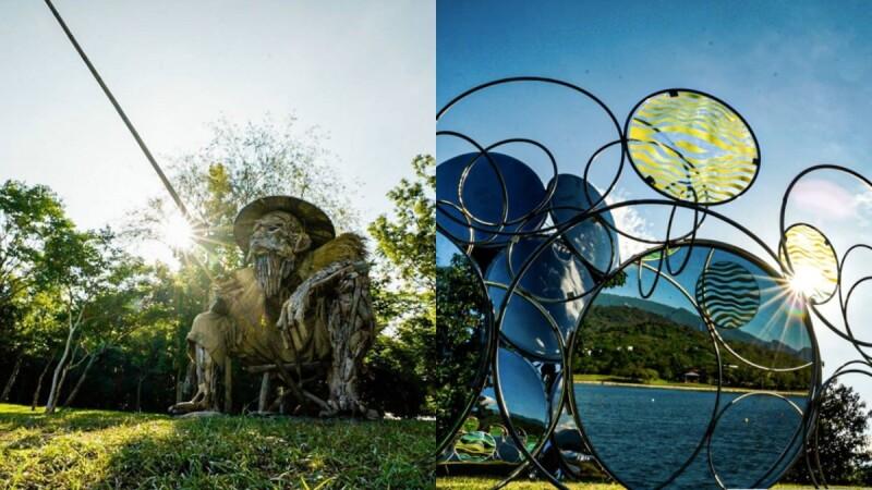 「2020縱谷大地藝術季」讓台東變更美!十件隱身197縣道、結合詩集與地景作品,深度感受自然縱谷韻味