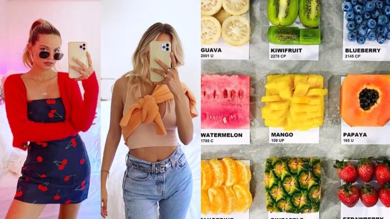 夏季專屬的水果色穿搭這樣駕馭!各式繽紛水果Pantone,迎接炎炎夏日的來到
