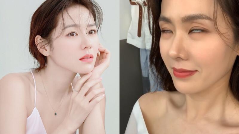 孫藝珍 這影片是發給 玄彬 的?!啾啾親一個、翻白眼,仙女扮醜還是美阿!