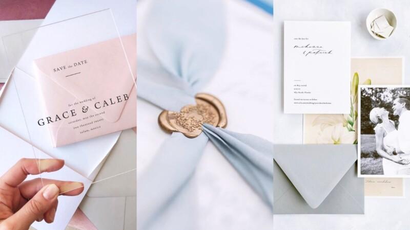 對婚禮邀函沒想法嗎?八種風格元素&範本,使你挑選出最接近理想中的婚禮邀請函!