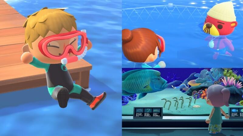 動森可以游泳啦!《動物森友會》免費更新7大亮點公開,暢遊大海浮淺、全新角色登場