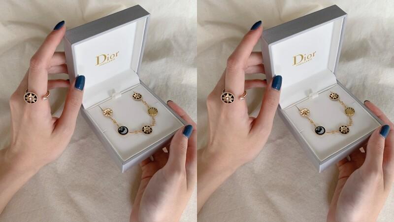 試戴報告│Dior羅盤玫瑰系列再推新款!開放式戒指、手鍊戒、雙面項鍊的細節實錄