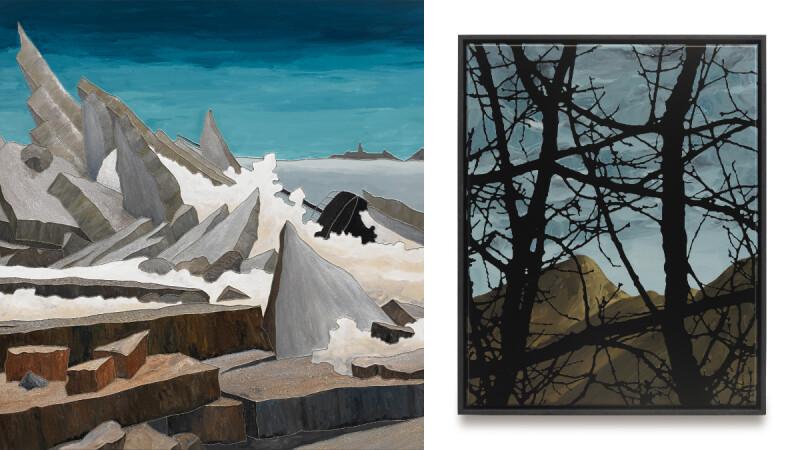 德國藝術家Sven Drühl台灣首個展《風景4.0》:見山不是山的現代風景畫