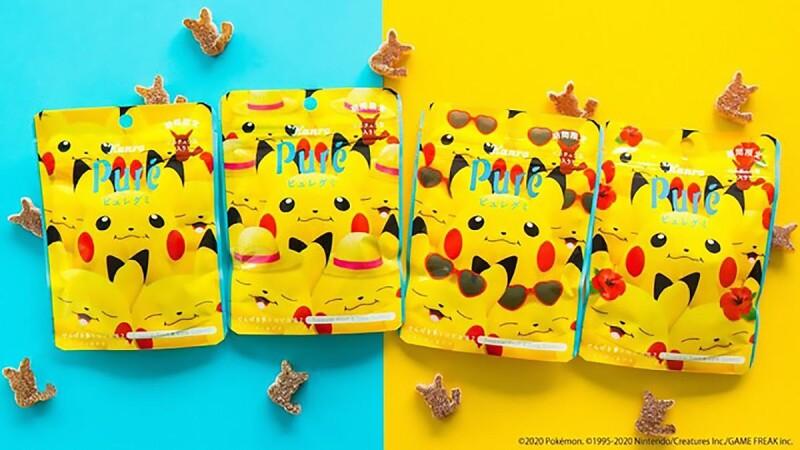 心臟爆擊!Pure皮卡丘軟糖第二彈登場,加入可樂口味變身焦糖色皮卡丘超可愛