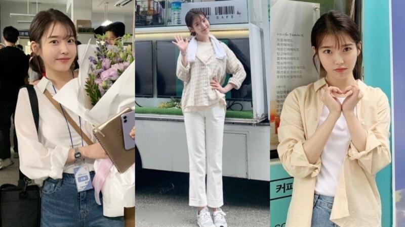 小資女裡邊請,跟 IU 學習 4 種好人緣「襯衫穿搭」,讓男女老少都被你征服!