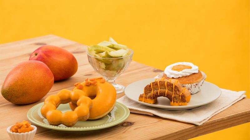 芒果控尖叫!Mister Donut推6款芒果甜甜圈,以愛文芒果尬情人果,還有全新西西里檸檬珈琲登場