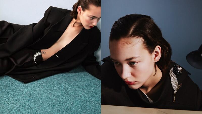 胸針是最萬能的珠寶首飾!可當作髮飾、腰帶、衣領…胸針的6個創意穿搭用法提案
