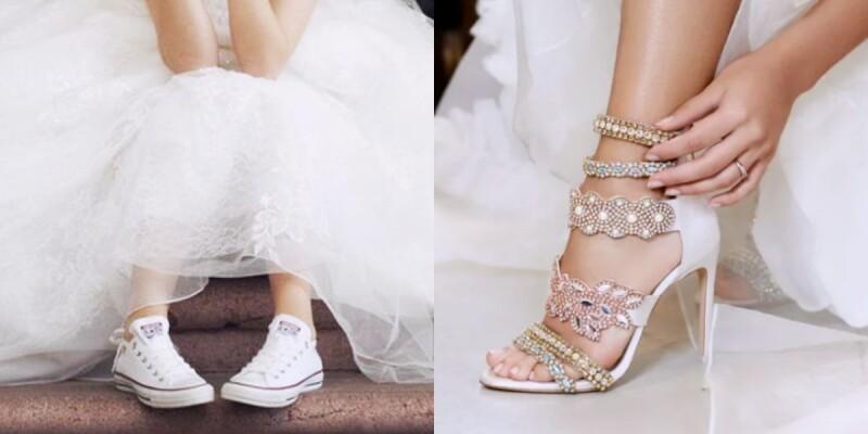 誰說婚鞋就只能選那幾家?精品到快時尚、高跟鞋到球鞋...三大風格婚鞋這樣挑!