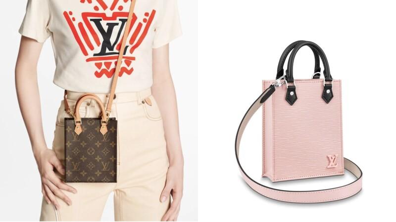 繼Balenciaga手機袋、CELINE Cabas手袋,LV也推出Monogram老花、櫻花粉、經典黑迷你托特袋
