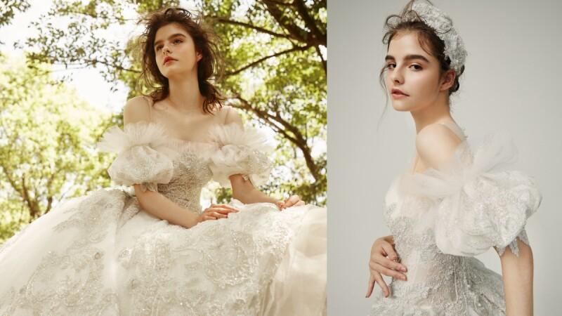 志玲姊姊婚禮當日的禮服如今也穿得到啦!Sophia Ritz 2021春夏高級訂製婚紗,實現各女孩的公主夢